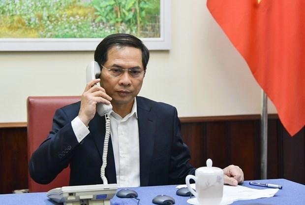 Le Vietnam souligne la cooperation internationale dans le combat du COVID-19 hinh anh 1