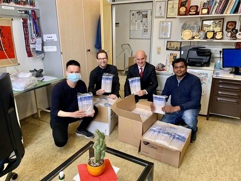 Vietnam et Allemagne se soudent contre le coronavirus hinh anh 1