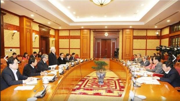 Le secretariat demande de traiter les infractions liees au recrutement de cadres hinh anh 1