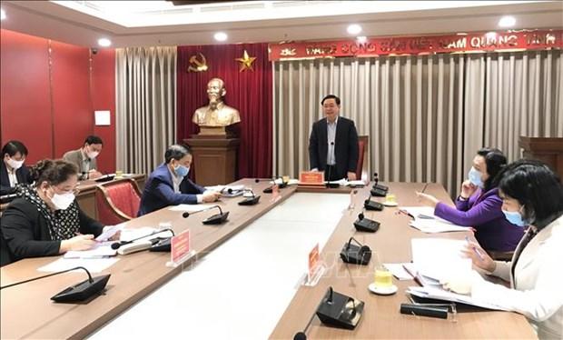 Hanoi se concentre sur l'acceleration des projets d'investissement public hinh anh 1