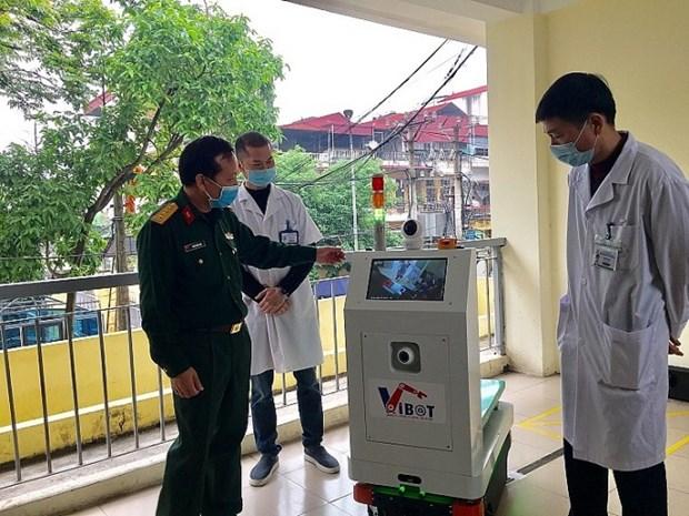 COVID-19: Bientot la mise en service de robots infirmiers dans les hopitaux hinh anh 1