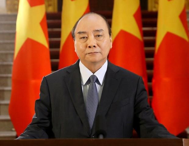 Message du PM Nguyen Xuan Phuc a la teleconference des ministres de la Sante du Pacifique occidental hinh anh 1