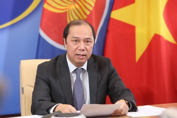 Le Vietnam promeut les efforts conjoints de l'ASEAN contre le COVID-19 hinh anh 1