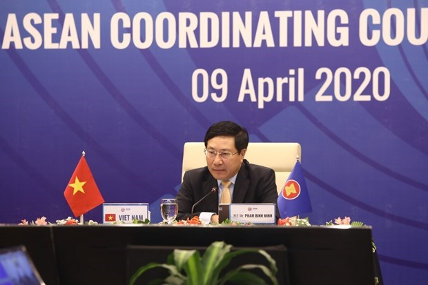 L'ASEAN etudie des mesures de coordination pour freiner la propagation de l'epidemie hinh anh 1
