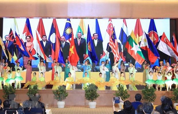 Oeuvrer ensemble pour proteger la Maison commune de l'ASEAN hinh anh 1
