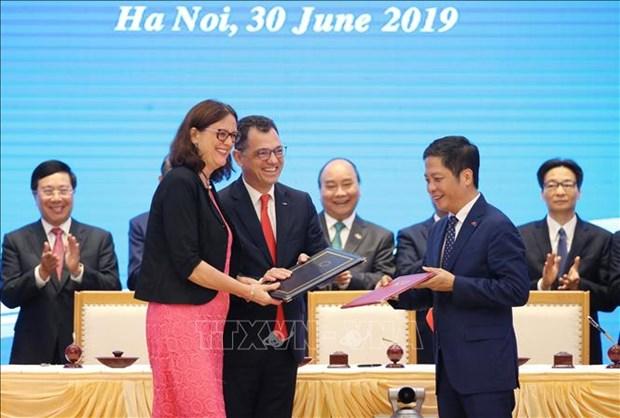 Renforcement de la cooperation avec l'UE dans le commerce hinh anh 1