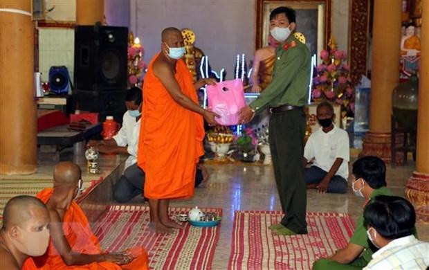 Feter Chol Chnam Thmay en respectant les mesures preventives du coronavirus hinh anh 1