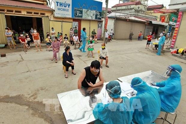 COVID-19: le Vietnam confirme deux nouveaux cas, le bilan passe a 262 hinh anh 1