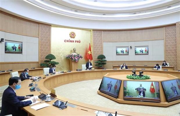 Le PM entend convoquer une conference nationale avec les entreprises hinh anh 2