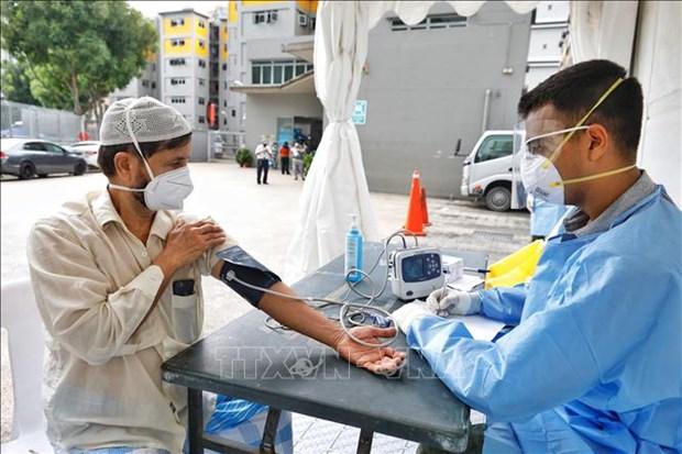 Singapour signale deux citoyens vietnamiens contamines au COVID-19 hinh anh 1