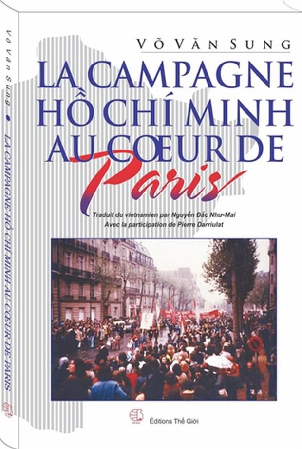 """Presentation du memoire """"La campagne Ho Chi Minh au cœur de Paris"""" hinh anh 1"""