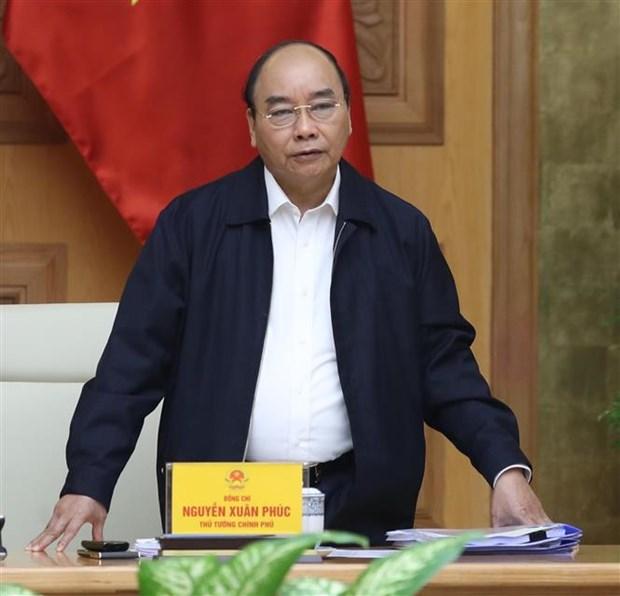 Le Premier ministre preside une reunion sur la bauxite hinh anh 1