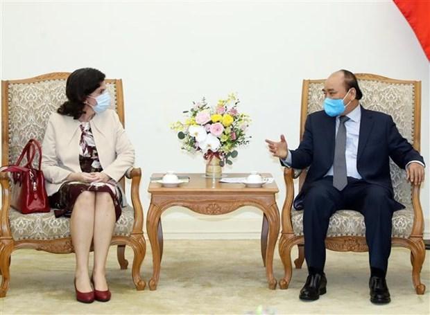 Le Vietnam promet son aide a Cuba dans la lutte anticoronavirus hinh anh 1