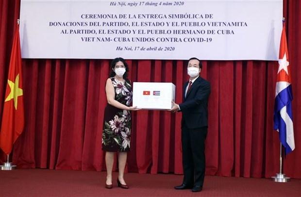Le Vietnam aide Cuba a lutter contre le COVID-19 hinh anh 1