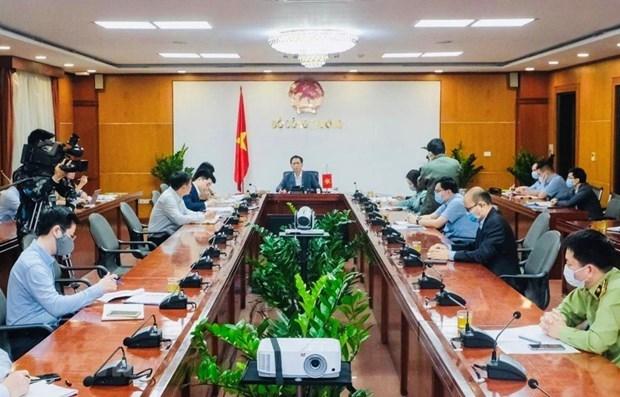 Le Vietnam et la Chine discutent du maintien de leur commerce hinh anh 1