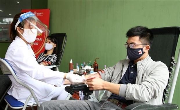 La Federation de la jeunesse lance une campagne de dons de sang hinh anh 1