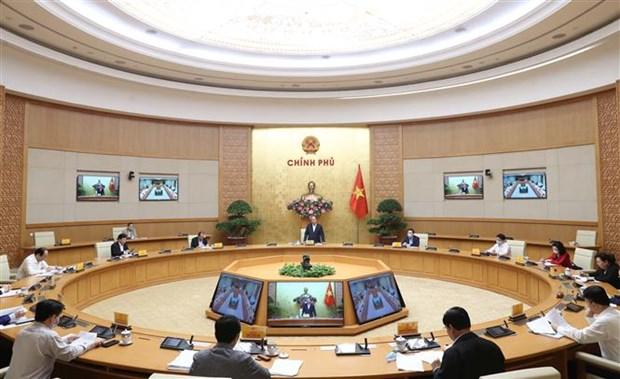 Le PM Nguyen Xuan Phuc demande a Hanoi de relancer son economie hinh anh 2