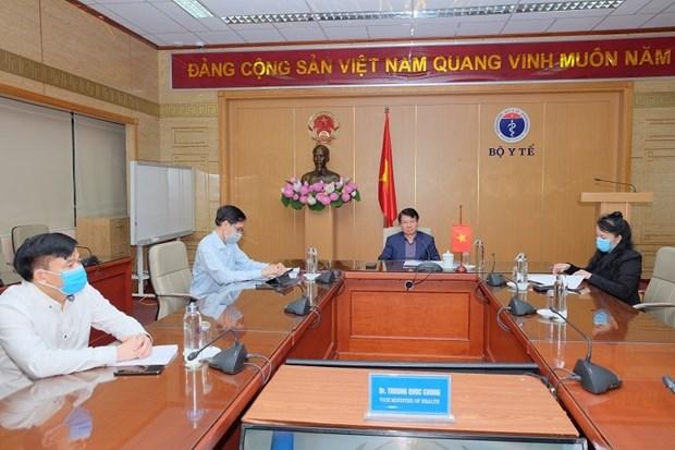 COVID-19 : Le Vietnam partage ses experiences lors d'une reunion des ministres de la Sante du G20 hinh anh 1
