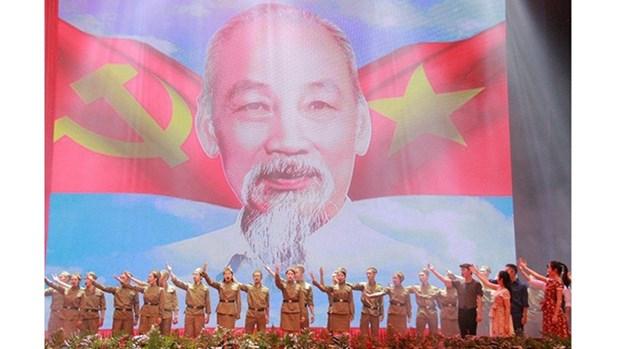 Diverses activites pour marquer le 130e anniversaire de la naissance du President Ho Chi Minh hinh anh 1