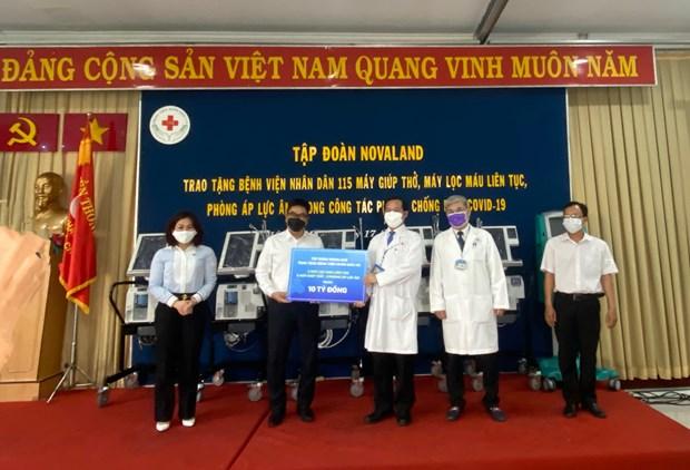 Novaland offre des equipements medicaux a l'Hopital Nhan Dan 115 hinh anh 1