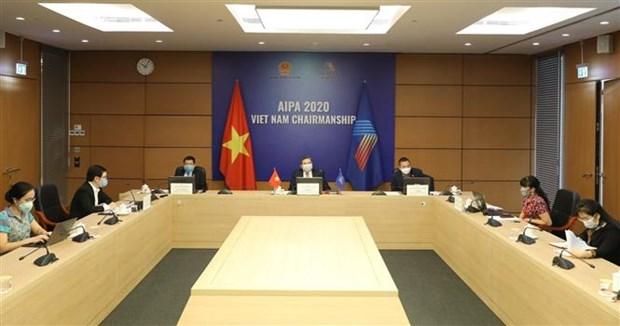 Role du Parlement dans la cooperation internationale face au COVID-19 hinh anh 1