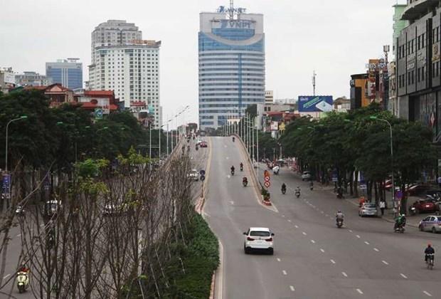 Hanoi mettra fin a la distanciation sociale a partir de 0h00 le 23 avril sauf Me Linh et Thuong Tin hinh anh 1