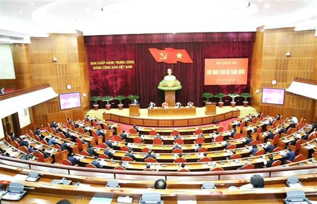 Le leader Nguyen Phu Trong preside la conference nationale des cadres hinh anh 2