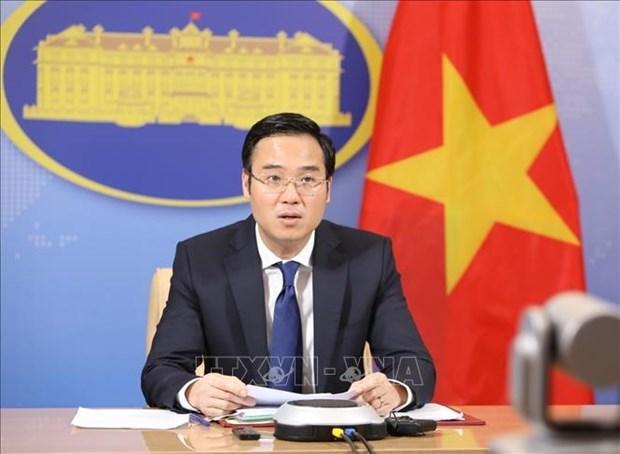 """Le Vietnam """"contribue activement a la paix et au developpement"""" hinh anh 1"""