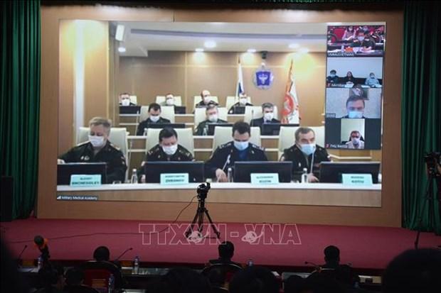 Defense : Vietnam et Russie cooperent dans la lutte contre le coronavirus hinh anh 1