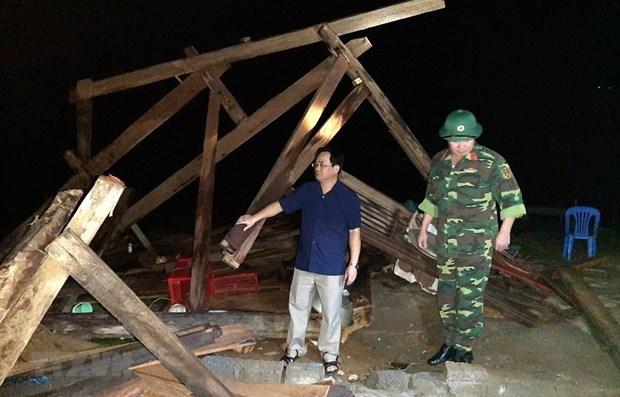 Les catastrophes naturelles causent des degats en vies humaines dans des provinces montagneuses hinh anh 1