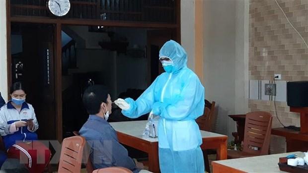 COVID-19 : sans nouveau cas samedi matin, cinq patients gueris a nouveau testes positifs hinh anh 1