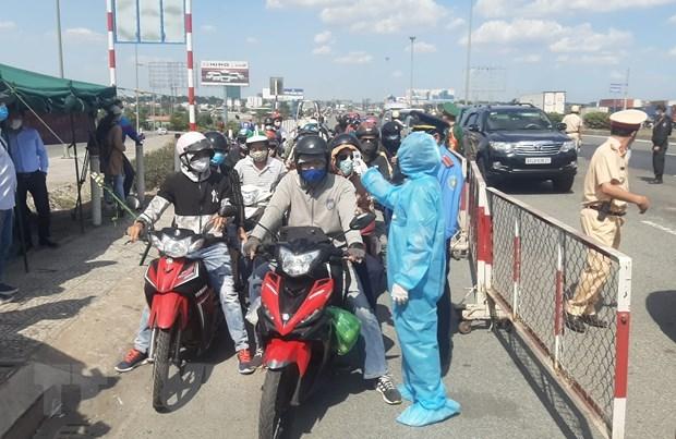 Coronavirus : Ho Chi Minh-Ville poursuit les mesures de prevention des risques hinh anh 1