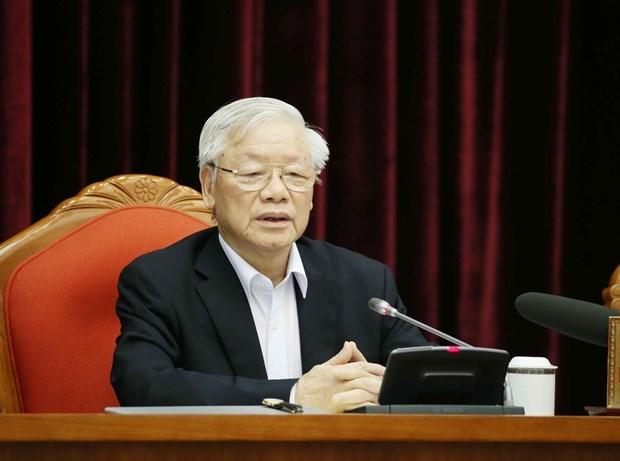 Congres national du Parti : Le dirigeant Nguyen Phu Trong insiste sur la preparation du personnel hinh anh 1