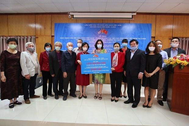 Remise de don du peuple vietnamien a Cuba pour faire face au COVID-19 hinh anh 1