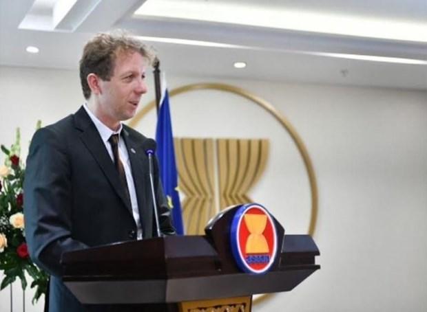 L'Union europeenne s'inquiete des actions unilaterales en Mer Orientale hinh anh 1