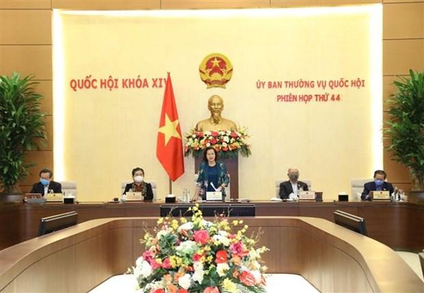 Cloture de la 44e reunion du Comite permanent de l'Assemblee nationale hinh anh 1