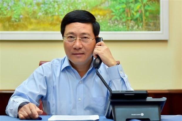 Le Vietnam et l'Estonie discutent du CSNU et du COVID-19 hinh anh 1