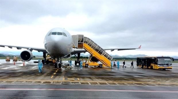Les vols a l'aeroport de Van Don reprendront le 4 mai hinh anh 1