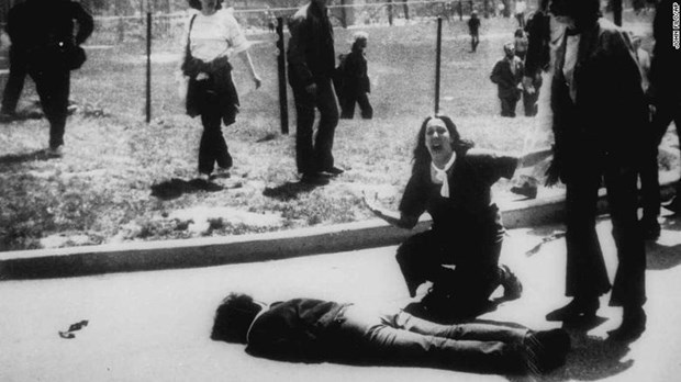 Kent se souvient d'une manifestation contre la guerre du Vietnam hinh anh 1