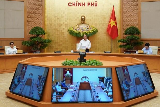 Le PM demande de redoubler d'efforts en vue d'une croissance de plus de 5% hinh anh 1