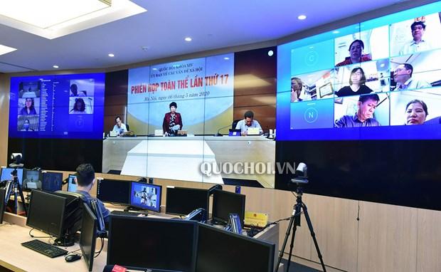 EVFTA, travailleurs invites et Convention n°105 en debat parlementaire hinh anh 1