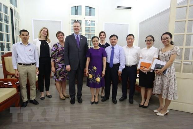 Le Vietnam et les Etats-Unis cherchent a renforcer leur partenariat integral hinh anh 1