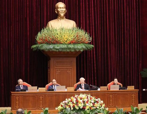 Le 12e Plenum du Comite central du Parti s'ouvre a Hanoi hinh anh 1