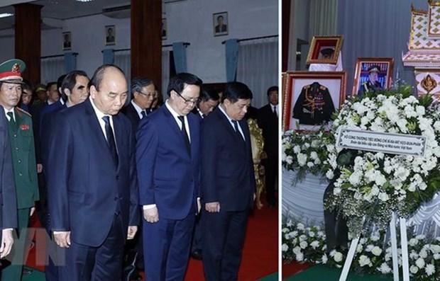 Le Vietnam adresse ses condoleances au Laos pour le deces de l'ancien Premier ministre hinh anh 1