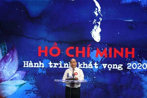 Le PM demande de se modeler sur l'Oncle Ho pour rendre le pays puissant hinh anh 1