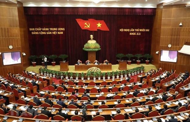 Le CC du Parti discute de l'orientation des elections des deputes de l'AN hinh anh 1