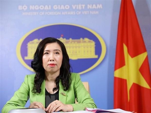 Le Vietnam exhorte a ne pas prendre de mesures pour compliquer la situation en mer Orientale hinh anh 1