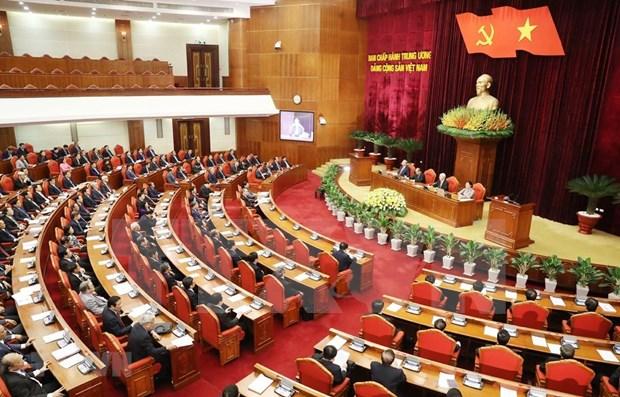 Communique du 12e Plenum du Comite central du PCV du 12e mandat hinh anh 1