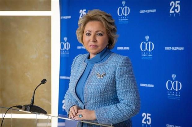 Coronavirus : la presidente du Conseil de la Federation de Russie remercie le Vietnam hinh anh 1