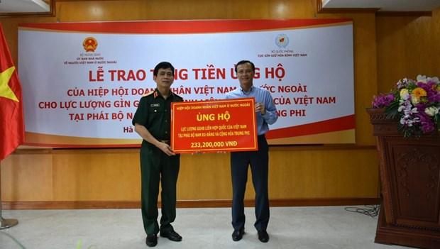 COVID-19 : Soutien aux forces de maintien de la paix vietnamiennes hinh anh 1